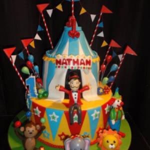 Circus Carnival Cake