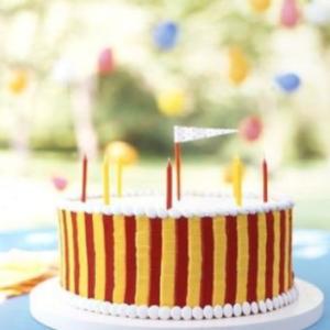 Classic Carnival Cake