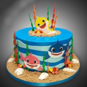 Cute Baby Shark Cake