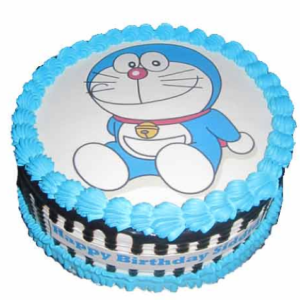 Doreamon Round cake