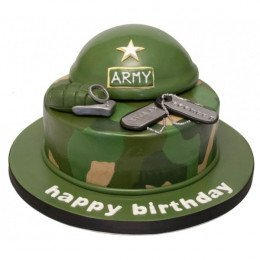 Indian Army Theme Cake