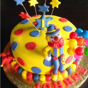 Joker Carnival Cake