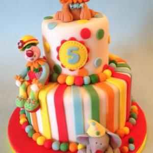 Kids Carnival Cake