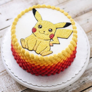Pikachu Love Cake