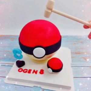 Pokemon Pinata Cake