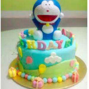Doreamon Birthday Cake