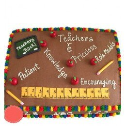 Birthday Cake for Maths Teacher