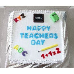 Teacher Theme Cake