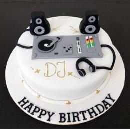 Dj Theme Cake