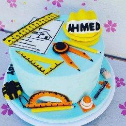 Birthday Cake for Civil Engineer