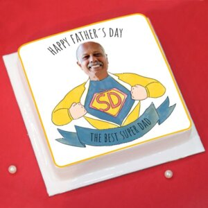 Personalized Cake For Father