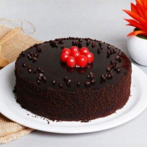 birthday chocolate truffle cake