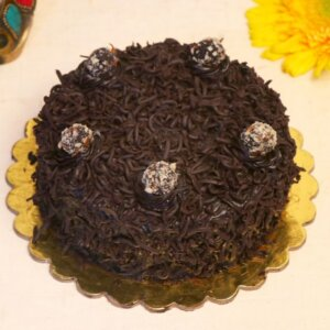 fancy chocolate truffle cake